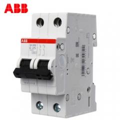 ABB空气开关2P 25A 双极空开 家用微断 小型断路器 SH202-C25  JC.869