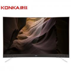 康佳(KONKA)LED65A1C 65英寸4K超高清智能网络曲面电视 黄金曲率 影院级环绕式临场体验DQ.1443