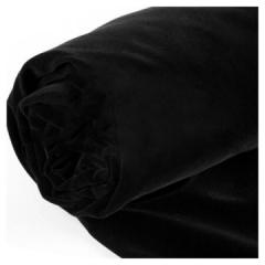 黑色 背景布植绒布拍摄摄影背景布纯色加厚吸光证件照绒布拍照白布照相布(2*3m)  ZX.337