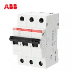 ABB空气开关 3P40A 380v三极三相断路器 空开工业 SH203-C40 JC.880