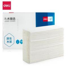 得力 CC1200-02 抽纸 抽式擦手纸 200抽/包 20包/箱   QJ.244