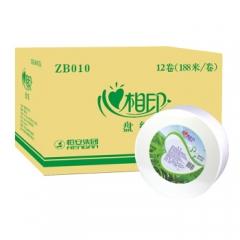 心相印大卷纸大盘纸3层188米12卷卫生纸手纸厕纸纸巾卷筒纸 ZB010   QJ.256