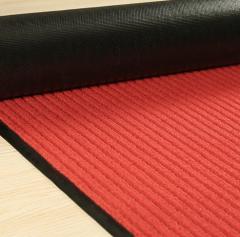 办公楼进门防滑地垫毯迎宾商用走廊楼梯吸水脚垫地毯垫 1.8*2.2米 红色 JC.886