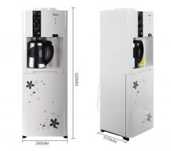 美的(Midea)饮水机立式沸腾胆家用温热型饮水机 MYR926S-W   DQ.1455