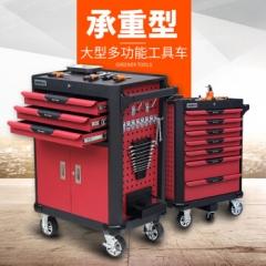 重型维修工具车多功能手推车汽修工具柜多层抽屉式移动工具箱 工具车G2  JC.889