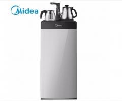 美的(Midea)智能下置式温热型立式 饮水机 YR1016S-X山脉灰   DQ.1458