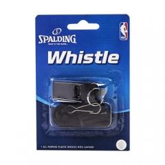 斯伯丁(SPALDING) 体育教练比赛裁判塑料口哨哨子 8330CN 带挂绳    TY.1269