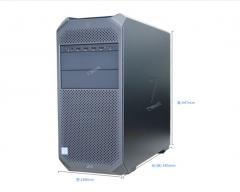 惠普(HP)Z4 G4图形工作站主机(替代Z440) W-2123 4核3.6G+P400 2G显卡 16G RECC内存+2*1TB SATA  WL.431