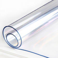 PVC软玻璃防水防烫透明水晶板 厚2mm  1.76m长*宽60cm JC.902