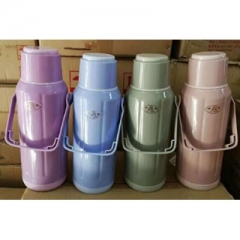 热水瓶塑料暖水瓶保温瓶暖瓶家用开水瓶茶瓶暖壶学生用宿舍 (颜色随机) CF.087