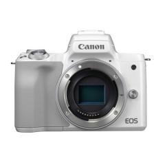 佳能微单(Canon)EOS M50 微单相机 白色 机身 ZX.346