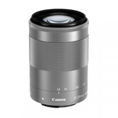 佳能Canon微单镜头 EOS M M2 M3 M50 M100 广角/长焦/定焦/微距镜头 55-200mm IS STM 银色 拆机头  ZX.348