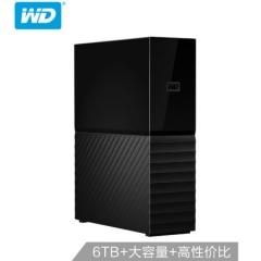 西部数据(WD)6TB USB3.0 桌面硬盘 My Book 3.5英寸WDBBGB0060HBK    PJ.518