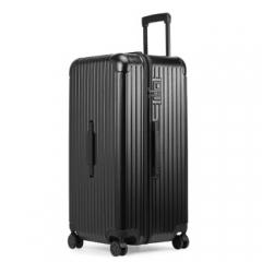 菲萝迪Ferducci加厚拉杆箱万向轮30英寸超大容量行李箱ins旅行箱 F819尊贵黑   TY.1273