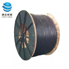 津达线缆 国标铜芯4+1芯铠装电力电缆 YJV22-4*95+1*50平方 1米  JC.910