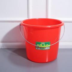 红色塑料水桶17L   10个/套   QJ.276