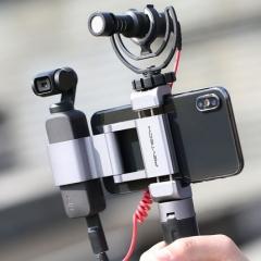 PGYTECH灵眸OSMO POCKET手机固定支架用于大疆云台口袋相机配件 ZX.353