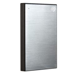 希捷(Seagate)1TB USB3.0移动硬盘 新睿品系列 2.5英寸 (轻薄小巧 自动备份 金属拉丝) 月光银   PJ.535