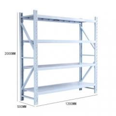 架仓储货架家用超市货架仓库展示架层架储物架1.2米四层主架 含安装  JC.911