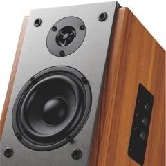 奋达(F&D)R25BT 2.0多媒体书架有源音响 无线蓝牙 NFC 4英寸 全木质对箱 HIFI音箱  IT.369