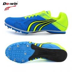 多威短跑钉鞋男女田径运动钉子鞋轻便专业比赛鞋P2607 兰色(PD2508A) 38码    TY.1284