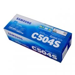 三星(SAMSUNG) CLT-C504S 青色墨粉盒 (适用型号:CLP-415N CLX-4195N/4195FN)    HC.1062