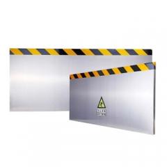 挡鼠板 不锈钢防鼠挡板门挡变电站仓库厨房室内500*1370cm 隔离防撞挡板 JC.928