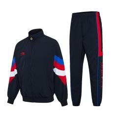 李宁梭织运动套服男女款 AACP015-1     M码黑色    TY.1256