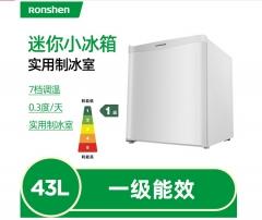 容声(Ronshen) 43升 小型迷你单门电冰箱 一级节能静音  珍珠白 BC-43KT1    DQ.1384