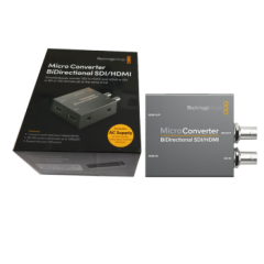 Bmd互转转换器MicroConverter BiDirectional SDI/HDMI wPSU 互转带电源  ZX.360