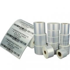 台半TSC条码打印机适用PVC哑银标签 固定资产 防水防刮标签 60*40*1500单排    BG.351