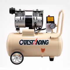 OUTSTANDING奥突斯无油静音空压机气泵OTS-550W-8L木工小型充气泵地暖空气压缩机 精品机 JC.931
