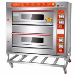 厨宝KB-20烤箱 二层四盘商用燃气烤箱 CF.111