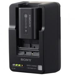 索尼(SONY)BC-QM1 充电器(兼容FH50/FV50/FV70/FV100/FW50/FM500H电池) ZX.374