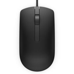 戴尔 DELL MS116有线鼠标 商务办公鼠标(黑色)    PJ.571