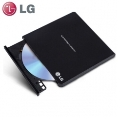 LG 8倍速USB2.0外置DVD光驱刻录机 黑色 GP65NB60    PJ.572