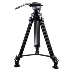 意美捷(E-IMAGE)G30 摄像机三脚架 专业摄像机液压云台 多功能摄影摄像三脚架云台  ZX.375