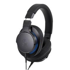 铁三角 MSR7b 高解析便携平衡连接头戴式HIFI耳机 黑色 立体声耳机  IT.916