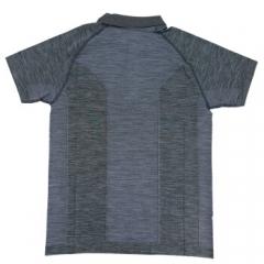 Wilson威尔胜2019年款F2系列男士POLO衫 时尚网球运动T恤 深灰 WRA777003   L码   TY.1294