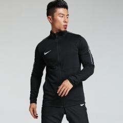 NIKE耐克 新款足球长袖训练服夹克组队外套 跑步健身运动训练足球服 AA3076-010    L码    TY.1296