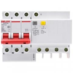 德力西小型漏电断路器DZ47sLE 3P+N C型 40A三相四线带零线漏电保护空气开关  JC.945