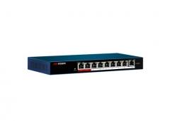 海康威视交换机 9口百兆 POE交换机 延长网线传输 非网管标准 DS-3E0109P-E/M   WL.505