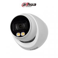 大华(dahua)日夜全彩摄像头200万POE供电1080P高清半球音频摄像机DH-IPC-HDW2233T-A-LED支持双灯白光    PJ.561