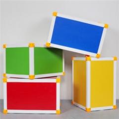 多功能音乐凳子音乐教室专用凳舞台凳六面体凳12mm(大号)41*30*25CM   JX.150