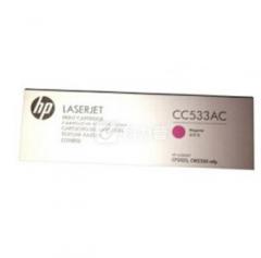 惠普 CC533AC 品红色硒鼓 适用Color LaserJet CP2025/2025n/2025dn/2025x 打印机     HC.1135