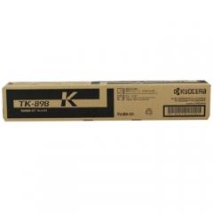 京瓷(KYOCERA) TK-898K 黑色复印机墨粉 适用机型:FS-C8020 C8025 C8525 彩色复印机    HC.1136