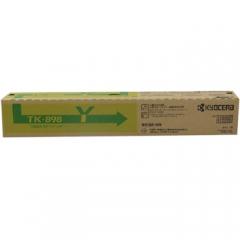京瓷(KYOCERA) TK-898Y 黄色复印机墨粉 适用机型:FS-C8020 C8025 C8525 彩色复印机    HC.1139