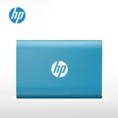 惠普(HP) 500GB Type-c USB3.1 移动硬盘 固态(PSSD) P500 传输速度高达370MB/s 蓝色   PJ.571