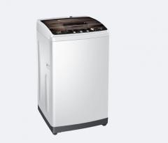 海尔(Haier)8公斤变频全自动波轮洗衣机 简约面板 一键洗衣 海立方护衣内桶 EB80BM929  DQ.1419