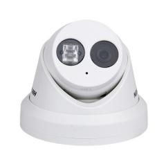 海康威视摄像头200万网络高清半球夜视红外监控设备套装监控器支持插卡带拾音带POE DS-2CD3325F-I 4MM焦距    PJ.575